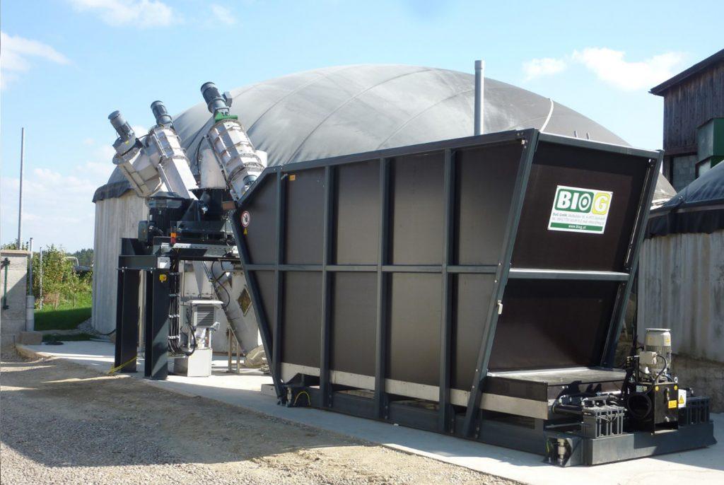 Biogasanlage BioCrusher Komplettsystem