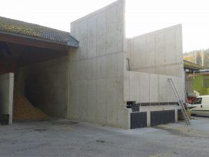 Instalación de secado para material a granel